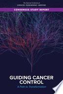 Guiding Cancer Control