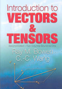 Introduction to Vectors and Tensors