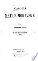 Časopis Matice Moravské