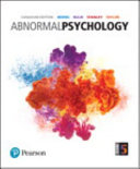 Abnormal Psychology  First Canadian Edition