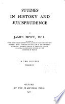 Obedience  The nature of sovereignty  The law of nature  The methods of legal science  The relations of law and religion  Methods of law making in Rome andin England  The history of legal development at Rome and in England  Marriage and divorce in Roman and in English law  Inaugural lecture  Valedictory lecture  Index