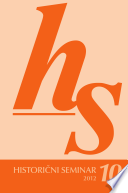 Historièni seminar 10