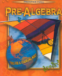 Prentice Hall pre algebra
