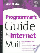Programmer s Guide to Internet Mail