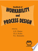 Handbook of Workability and Process Design Pdf/ePub eBook