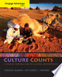 Cengage Advantage Books  Culture Counts  A Concise Introduction to Cultural Anthropology