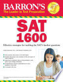 Barron s SAT 1600  5th edition