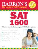 Barron s SAT 1600  5th edition