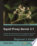 Squid Proxy Server 3 1