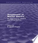Assessment of Marital Discord  Psychology Revivals