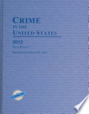 Crime in the United States 2012