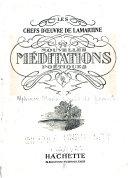 Nouvelles Meditations Poetiques : ...