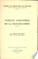 Tableau industriel de la Franche Comt    1960 1961
