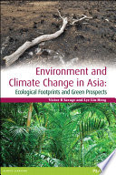 Environment and Climate Change in Asia
