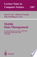 Mobile Data Management book