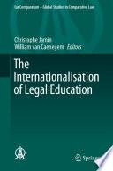 The Internationalisation Of Legal Education