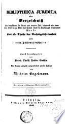 Bibliotheca juridica;.