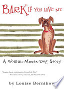 Bark If You Love Me Book PDF