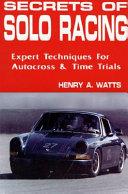 Secrets of Solo Racing