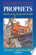 Prophets Micah Joel Jonah And Isaiah
