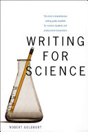 Writing for Science That Today S Experimental Scientist May Need