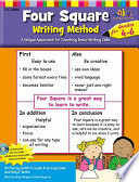 Four Square  Writing Method Grades 4 6 w Enhanced CD