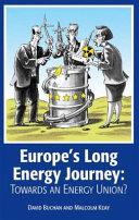 Europe s Long Energy Journey