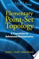 Elementary Point Set Topology