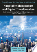 Hospitality Management and Digital Transformation