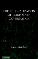 The Federalization of Corporate Governance