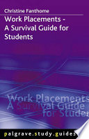 Work Placements   A Survival Guide for Students