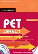 PET Direct  Student s Book with CD ROM