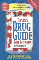 Davis S Drug Guide For Nurses