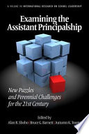 Examining the Assistant Principalship