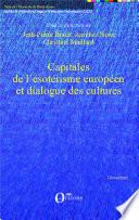 Capitales de l   sot  risme europ  en et dialogue des cultures