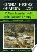 UNESCO General History of Africa, Vol. IV, Abridged Edition