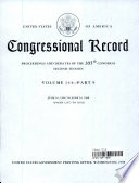 Congressional Record  Proceedings and Debates of the 105th Congress  Second Session Vol  144 Part 9