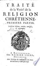Trait De La V Rit De La Religion Chr Tienne