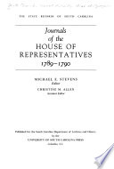 Journals of the House of Representatives, 1789-1790