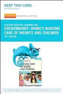 Elsevier Adaptive Learning for Wong s Nursing Care of Infants and Children