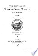The History of Contra Costa County  California