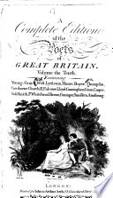 A Complete Edition Of The Poets Of Great Britain Young Gray B West Lyttleton Moore Boyce Thompson Cawthorne Churchill Falconer Lloyd Cunningham Green Cooper Goldsmith P Whitehead Brown Grainger Smollet Armstrong