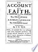 An Account of Faith