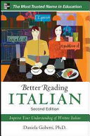 Better Reading Italian  2nd Edition
