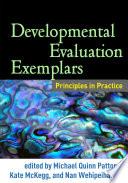 Developmental Evaluation Exemplars