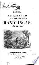 Kungliga Svenska Vetenskapsakademiens handlingar