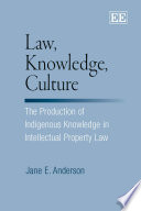 Law, Knowledge, Culture