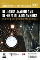 Decentralization and Reform in Latin America