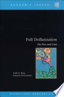 Full Dollarization The Pros And Cons Epub