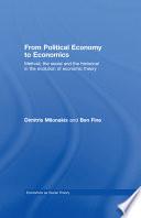 From Political Economy to Economics
